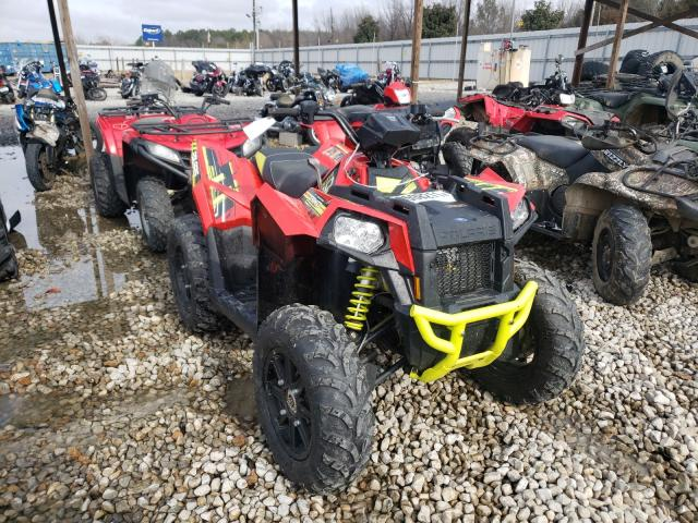 Salvage cars for sale from Copart Memphis, TN: 2018 Polaris Scrambler