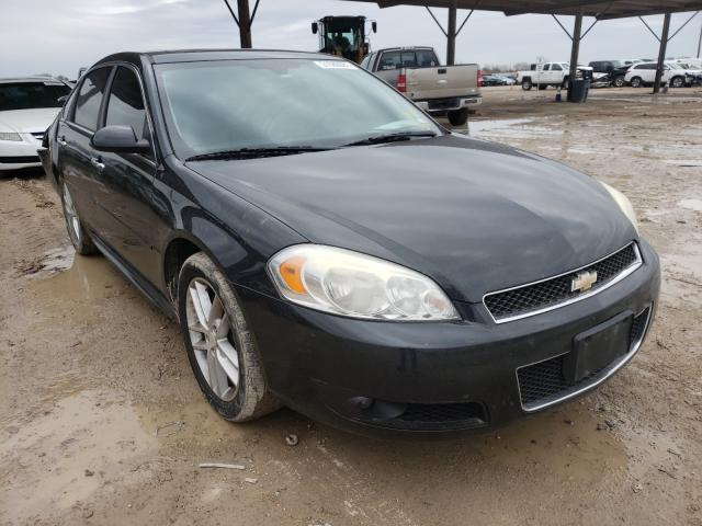 Salvage cars for sale from Copart Temple, TX: 2012 Chevrolet Impala LTZ