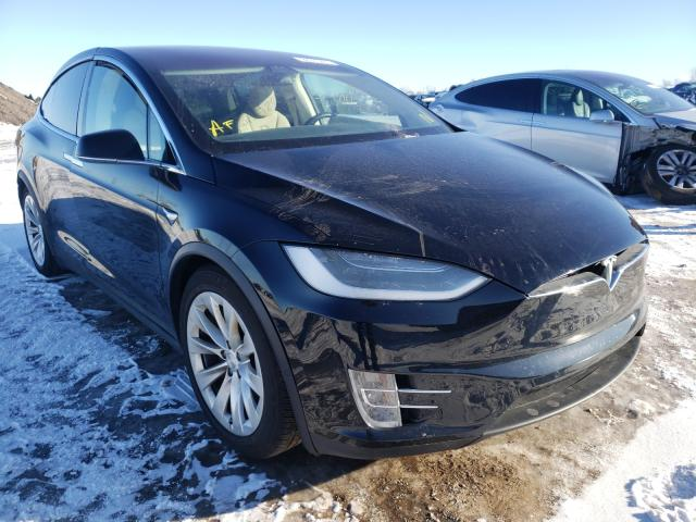 Salvage cars for sale from Copart Elgin, IL: 2017 Tesla Model X
