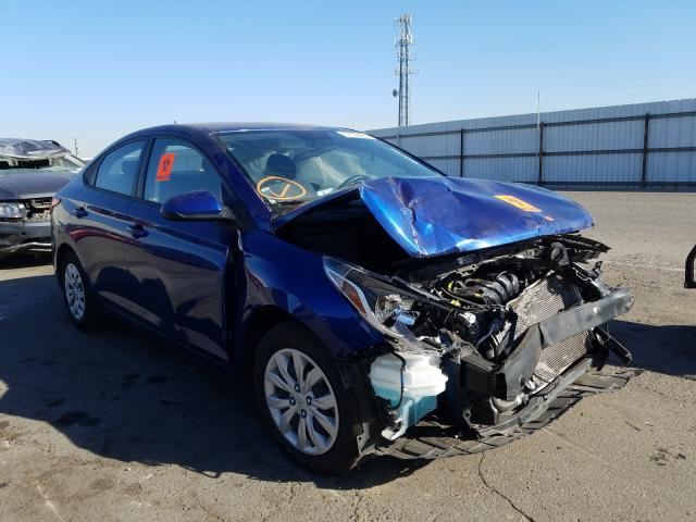 Salvage cars for sale from Copart Fresno, CA: 2019 Hyundai Accent SE