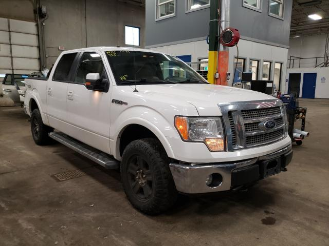Salvage cars for sale from Copart Blaine, MN: 2011 Ford F-150 Lari