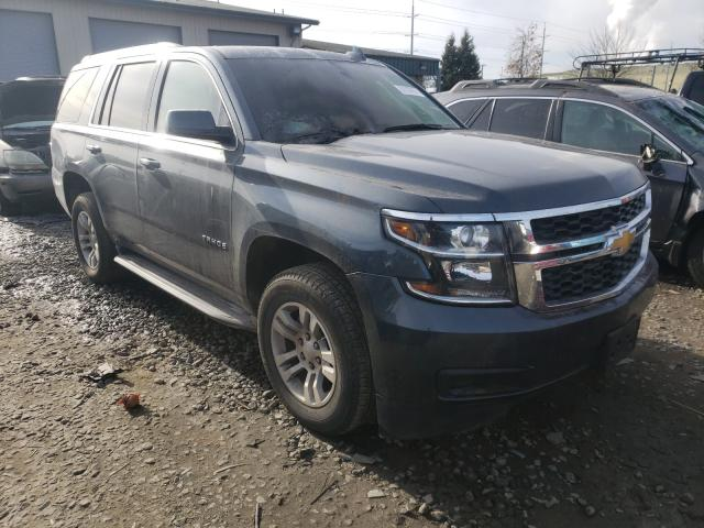 Salvage cars for sale from Copart Eugene, OR: 2019 Chevrolet Tahoe K150
