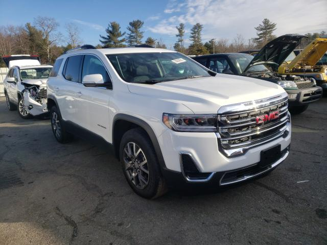 Salvage cars for sale from Copart Exeter, RI: 2020 GMC Acadia SLE