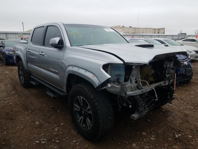 Salvage cars for sale from Copart Mercedes, TX: 2017 Toyota Tacoma DOU