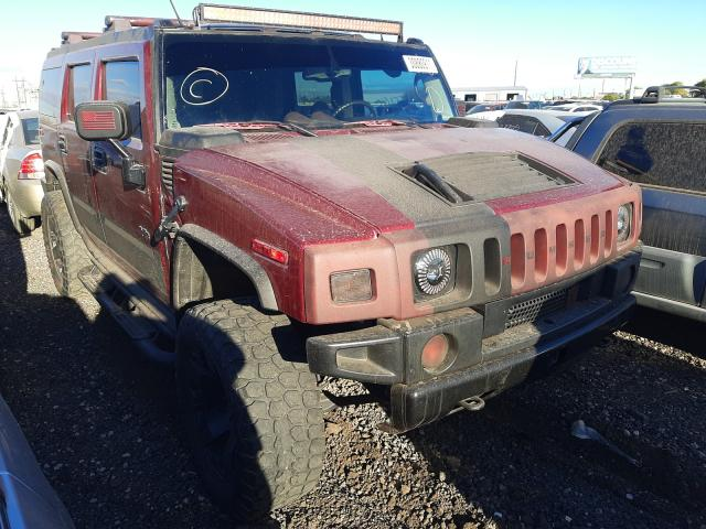 Hummer salvage cars for sale: 2003 Hummer H2