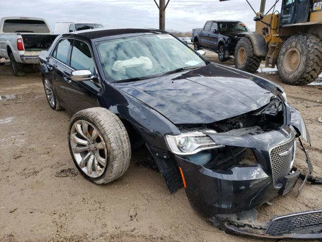 Salvage cars for sale from Copart Temple, TX: 2019 Chrysler 300 Limited