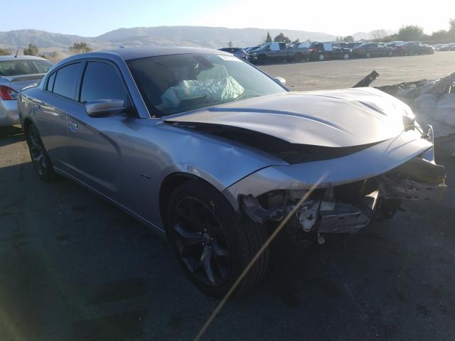 Salvage cars for sale from Copart San Martin, CA: 2018 Dodge Charger R