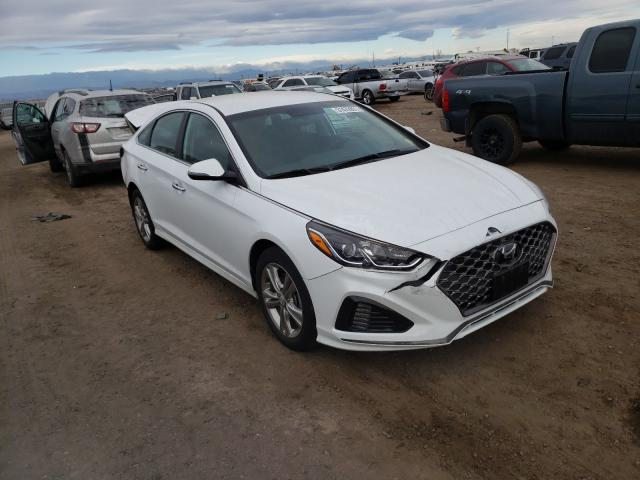 Hyundai salvage cars for sale: 2018 Hyundai Sonata Sport