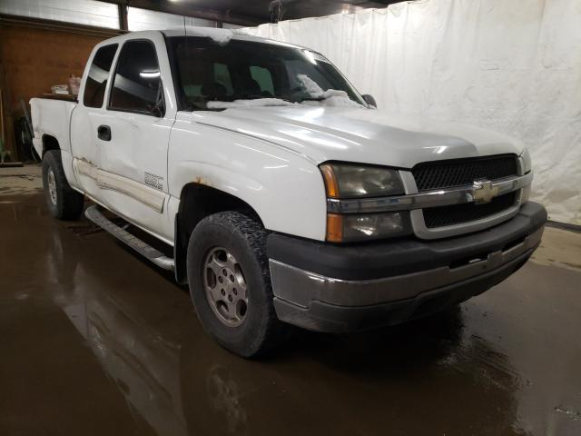 Salvage cars for sale from Copart Ebensburg, PA: 2004 Chevrolet Silverado