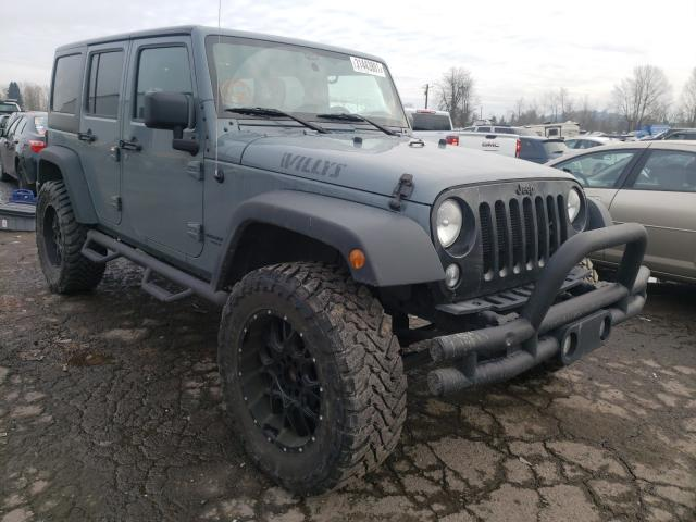 Salvage cars for sale from Copart Portland, OR: 2015 Jeep Wrangler U
