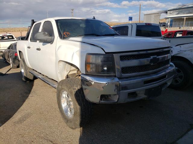 Salvage cars for sale from Copart Albuquerque, NM: 2012 Chevrolet Silverado