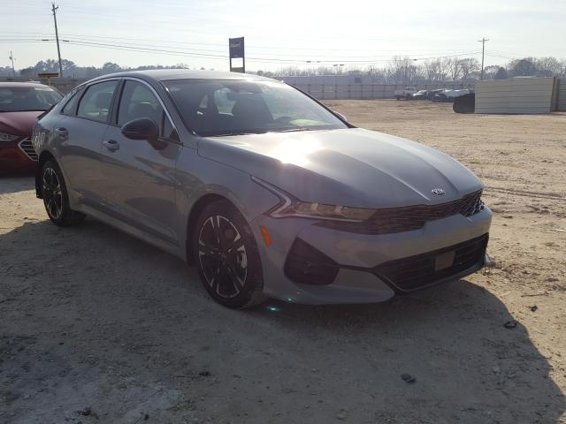 Salvage cars for sale from Copart Newton, AL: 2021 KIA K5 GT Line