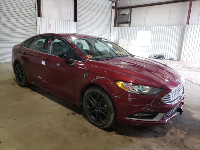 Salvage cars for sale from Copart Lufkin, TX: 2018 Ford Fusion SE