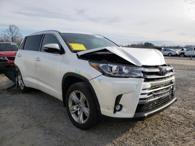 Salvage cars for sale from Copart Lumberton, NC: 2018 Toyota Highlander