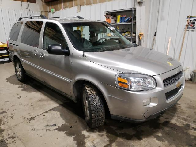 Salvage cars for sale from Copart Anchorage, AK: 2007 Chevrolet Uplander L
