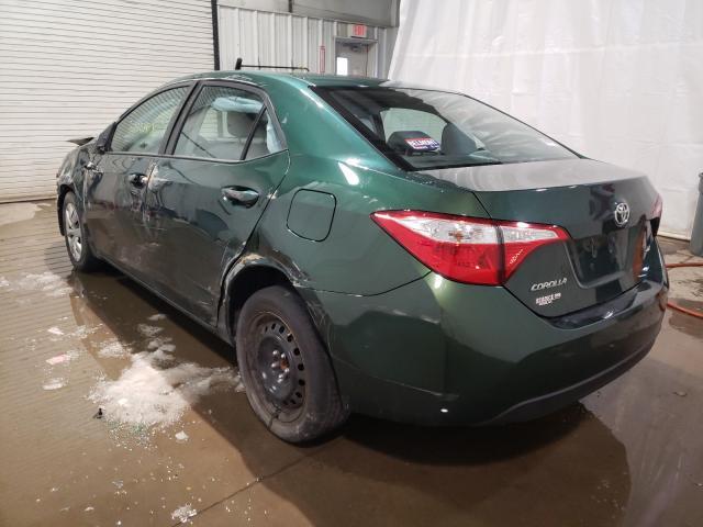 купить 2016 Toyota Corolla L 1.8L 2T1BURHE6GC620708