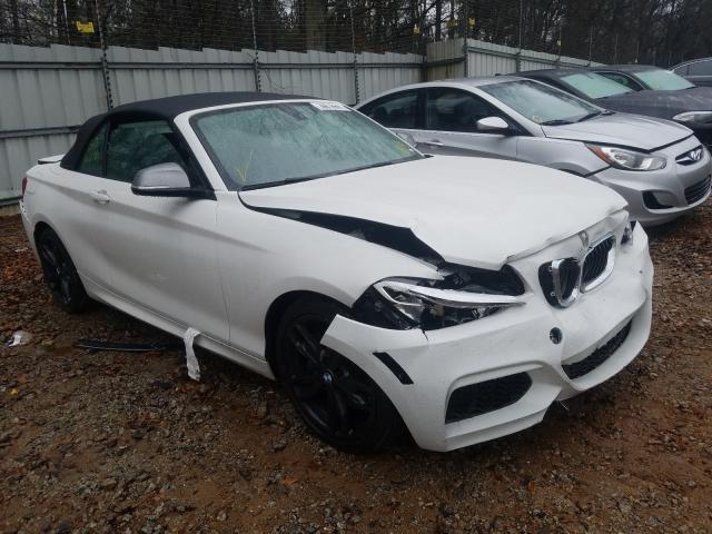 BMW M240I salvage cars for sale: 2017 BMW M240I