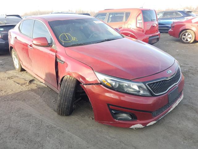 Salvage cars for sale from Copart Alorton, IL: 2014 KIA Optima LX