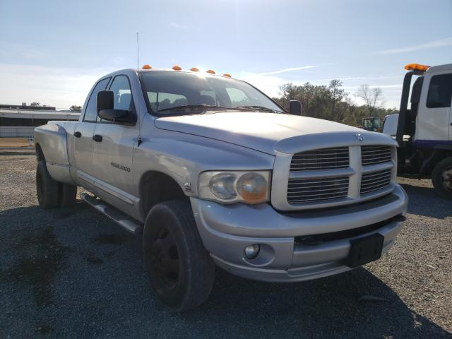 Salvage cars for sale from Copart Jacksonville, FL: 2005 Dodge RAM 3500 S