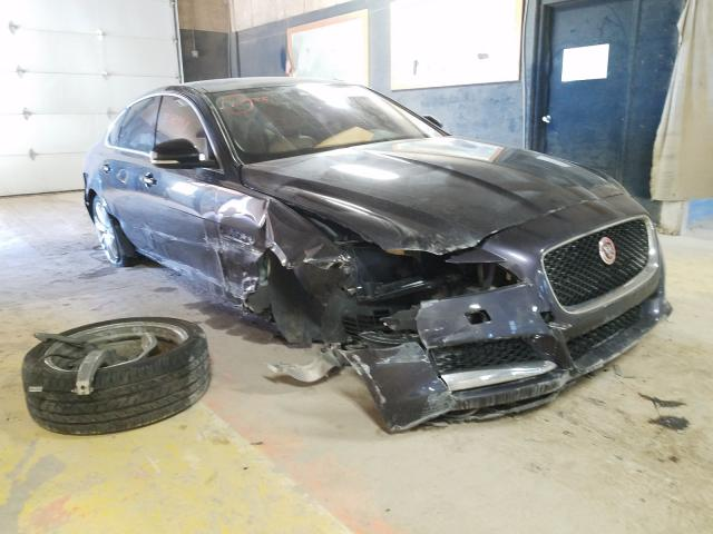 Salvage cars for sale from Copart Indianapolis, IN: 2016 Jaguar XF Prestige