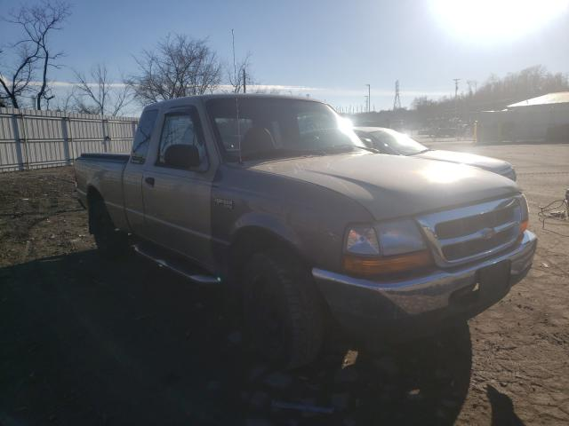 Salvage cars for sale from Copart West Mifflin, PA: 2000 Ford Ranger SUP