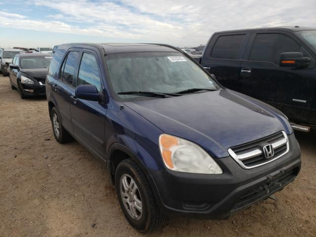 Salvage cars for sale from Copart Amarillo, TX: 2002 Honda CR-V EX
