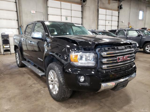 Salvage cars for sale from Copart Blaine, MN: 2016 GMC Canyon SLT