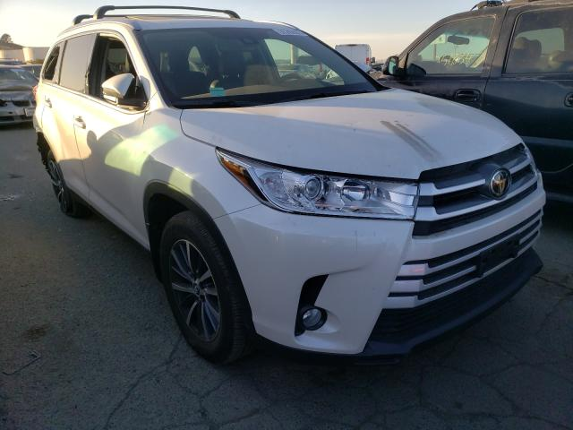 Salvage cars for sale from Copart Martinez, CA: 2019 Toyota Highlander