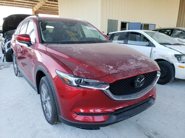 Salvage cars for sale from Copart Homestead, FL: 2020 Mazda CX-5 Grand Touring