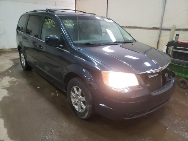 Salvage cars for sale from Copart Davison, MI: 2008 Chrysler Town & Country