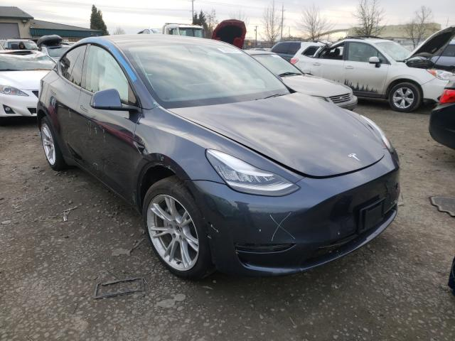 Salvage cars for sale from Copart Eugene, OR: 2020 Tesla Model Y