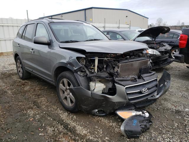 Hyundai salvage cars for sale: 2009 Hyundai Santa FE S