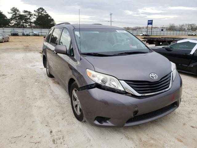 Salvage cars for sale from Copart Newton, AL: 2014 Toyota Sienna LE