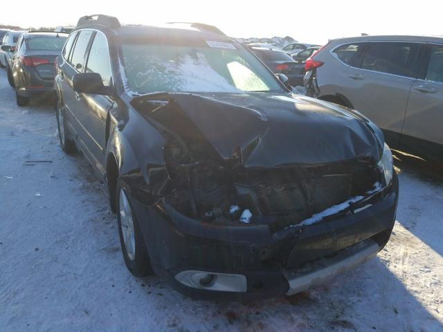 Salvage cars for sale from Copart Elgin, IL: 2012 Subaru Outback 2