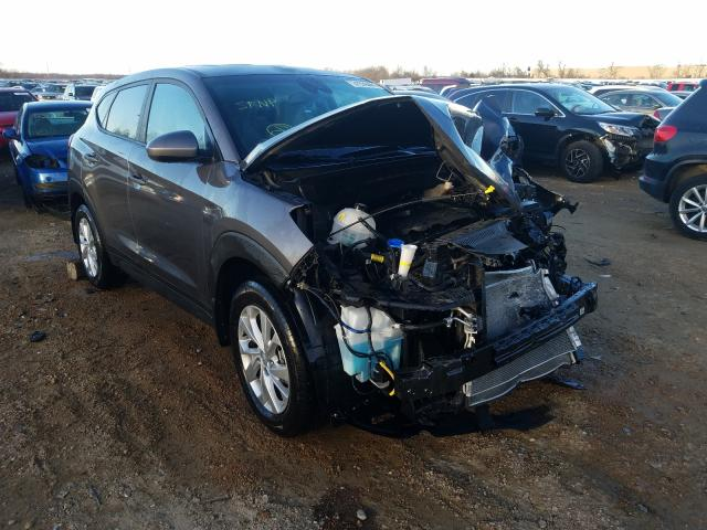Salvage cars for sale from Copart Bridgeton, MO: 2020 Hyundai Tucson SE