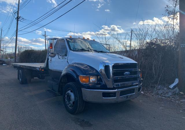Salvage cars for sale from Copart Hillsborough, NJ: 2004 Ford F650 Super