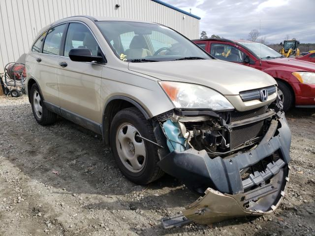 Salvage cars for sale from Copart Spartanburg, SC: 2009 Honda CR-V LX