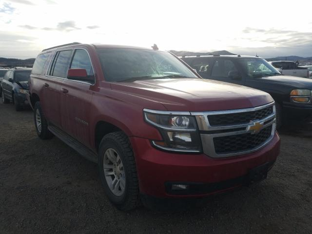 Chevrolet Suburban K salvage cars for sale: 2015 Chevrolet Suburban K