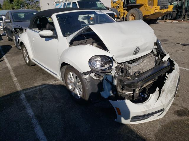 Salvage cars for sale from Copart Rancho Cucamonga, CA: 2018 Volkswagen Beetle S