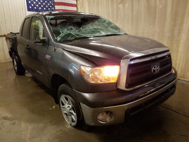 Salvage cars for sale from Copart Avon, MN: 2011 Toyota Tundra DOU
