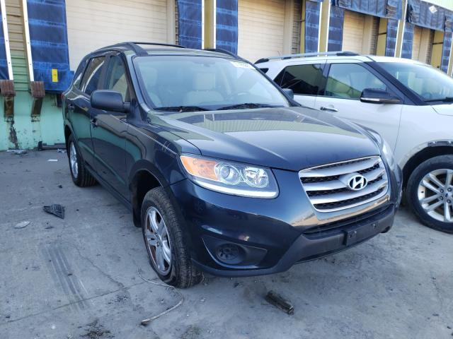 Salvage cars for sale from Copart Columbus, OH: 2012 Hyundai Santa FE G
