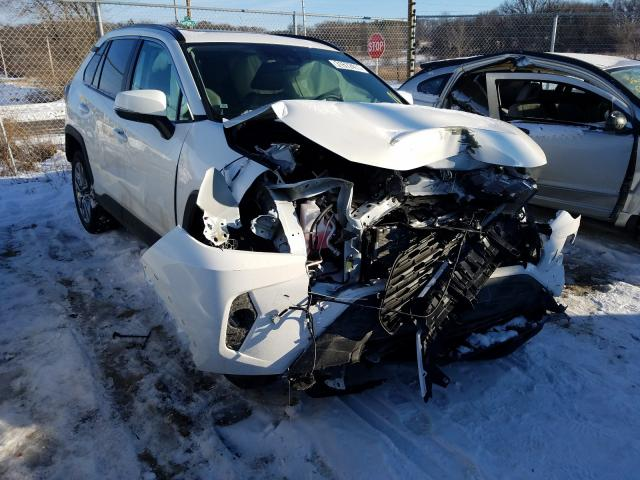 Salvage cars for sale from Copart Madison, WI: 2019 Toyota Rav4 XLE P