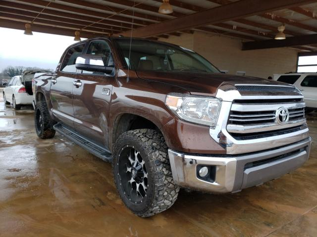 Toyota salvage cars for sale: 2016 Toyota Tundra CRE