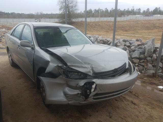 Salvage cars for sale from Copart Gaston, SC: 2002 Toyota Camry LE