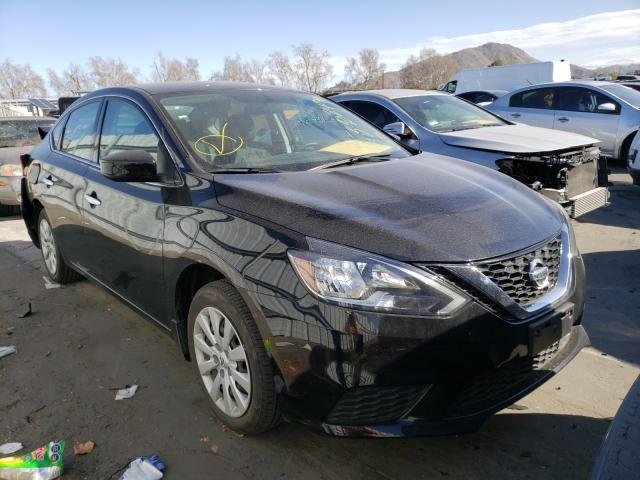 Salvage cars for sale from Copart Colton, CA: 2019 Nissan Sentra S
