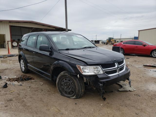 Salvage cars for sale from Copart Temple, TX: 2014 Dodge Journey SE