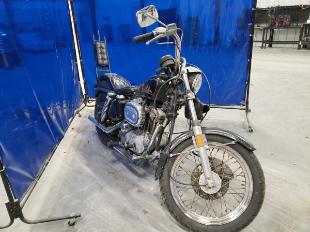 Salvage cars for sale from Copart Spartanburg, SC: 1973 Harley-Davidson XL