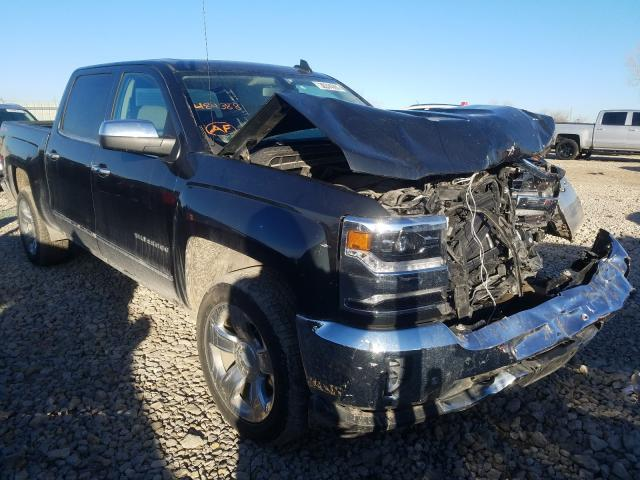 Salvage cars for sale from Copart Kansas City, KS: 2018 Chevrolet Silverado