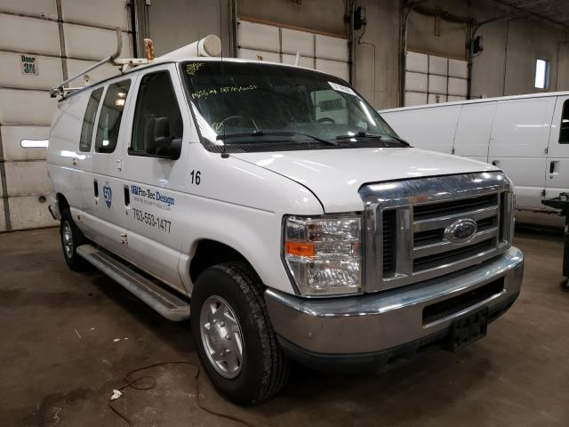 Salvage cars for sale from Copart Blaine, MN: 2010 Ford Econoline