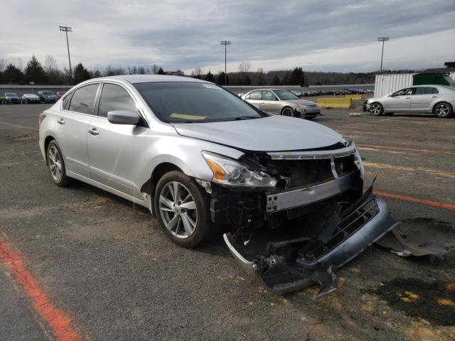 Salvage cars for sale from Copart Concord, NC: 2015 Nissan Altima 2.5